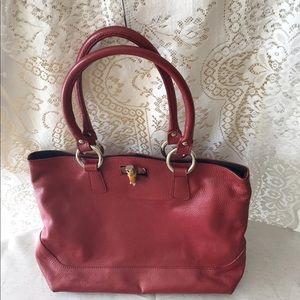 Handbags - Claudia Firenze Hobo RARE Red Bag
